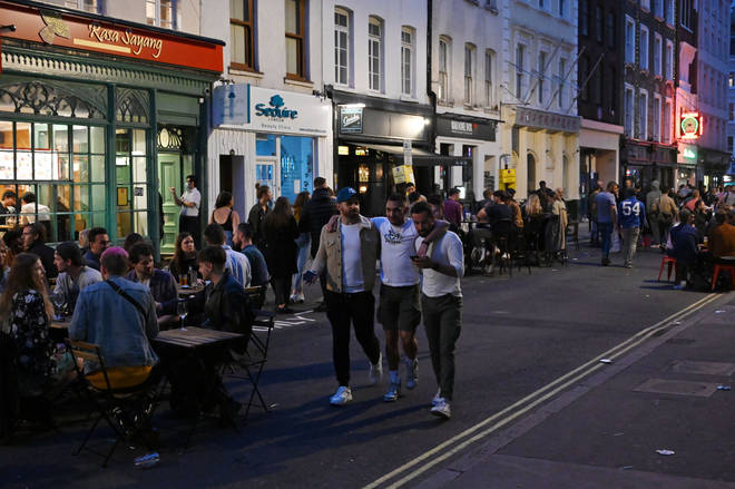 Londoners could be the first to face a 10pm curfew