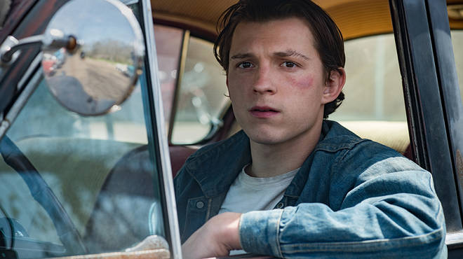 Tom Holland plays the main character Arvin in the new Netflix UK release