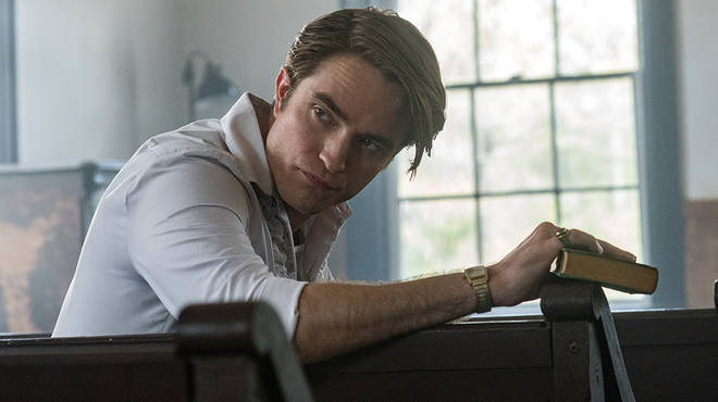 Robert Pattinson plays the new Pastor in The Devil All The Time