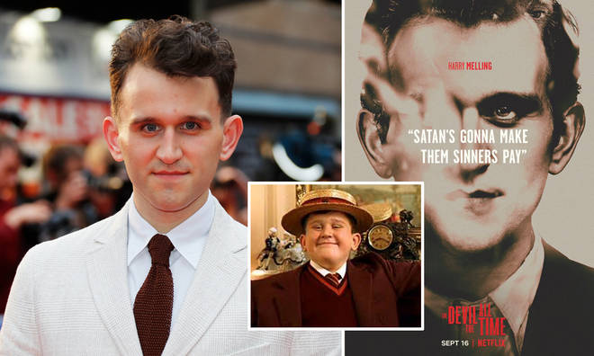 Harry Melling stars in The Devil All The Time