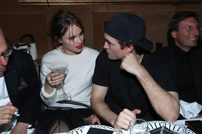Robert Pattinson and Suki Waterhouse at Dior Perfume Dinner As Part Of Paris Fashion Week In Paris