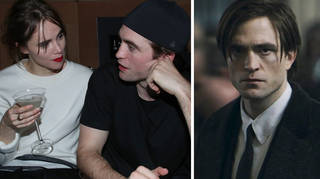 Robert Pattinson spotted kissing girlfriend after COVID-19 diagnosis