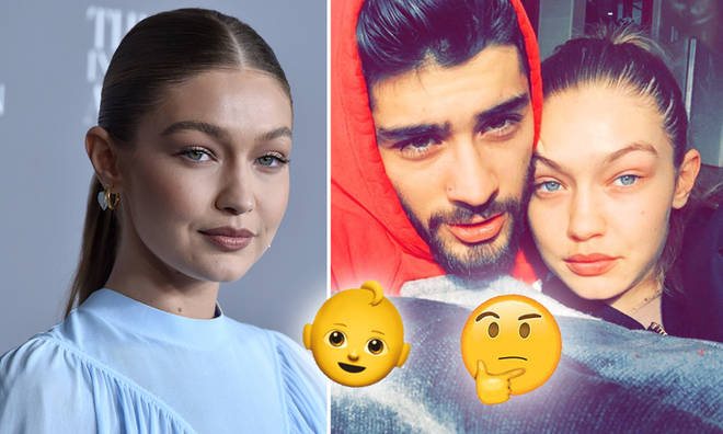 Gigi Hadid's due date is any day now