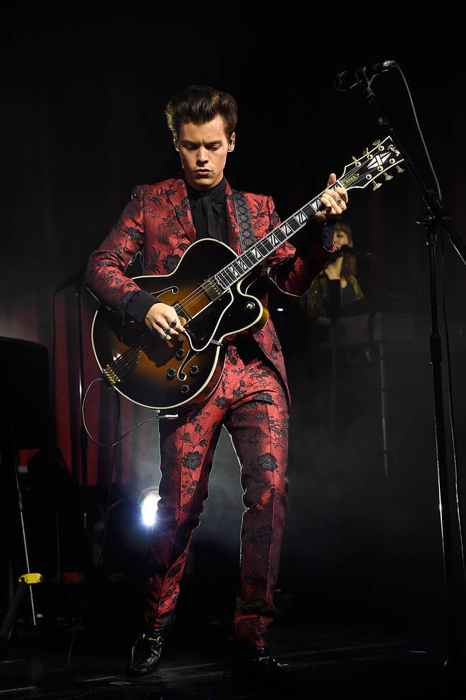 Harry Styles wore some iconic outfits on his 2017 tour