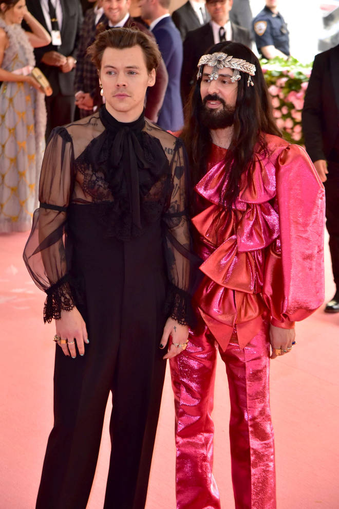 Harry Styles cemented himself as a fashion icon at the MET Gala 2019