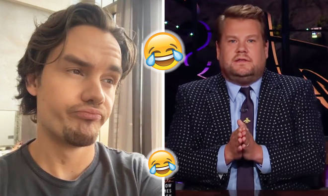 Liam Payne joins in with James Corden's One Direction 'kidnap' skit