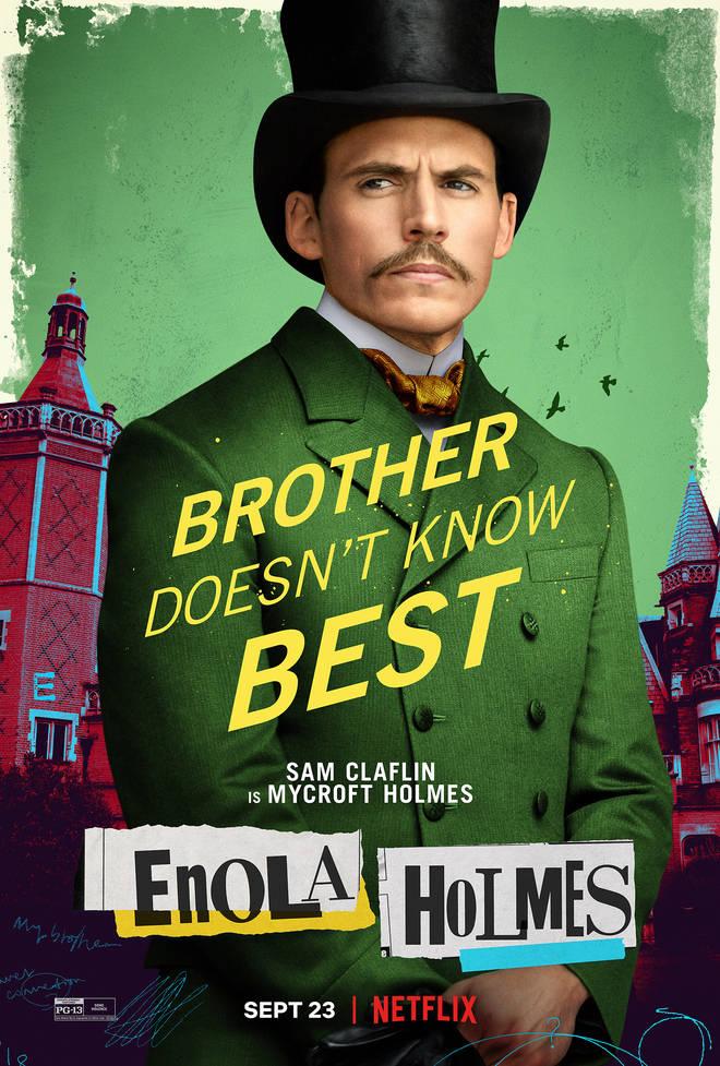 Sam Claflin in Enola Holmes
