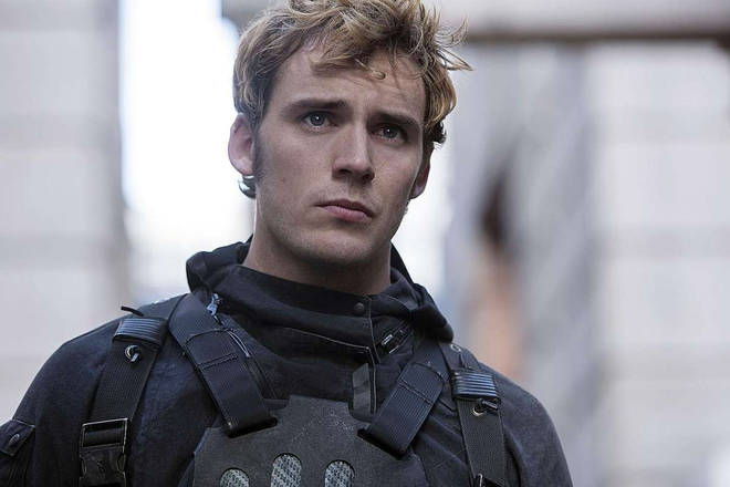 Sam Claflin in The Hunger Games