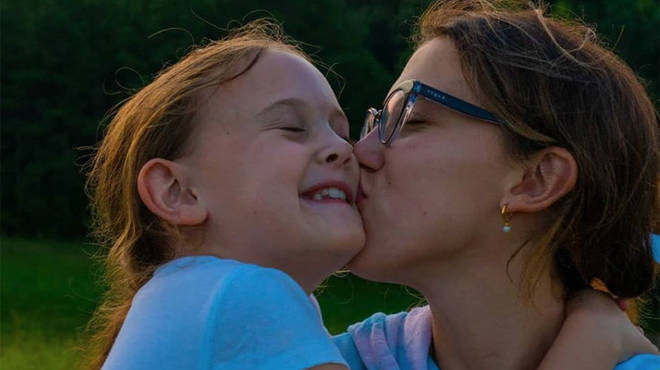 Millie Bobby Brown and her little sister Ava are the cutest