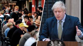 Boris Johnson will address the nation with the new coronavirus measures