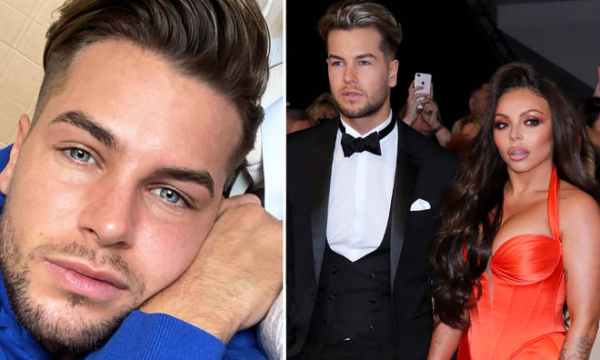 Chris Hughes and Jesy Nelson split earlier this year.