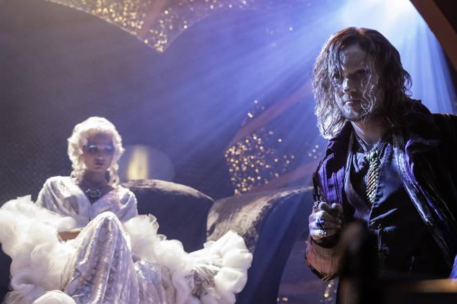 Tom Felton plays Grand Guignol in the new Netflix film