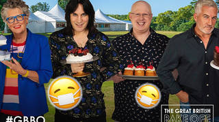 'The Great British Bake Off' returns as cast and crew quarantined together
