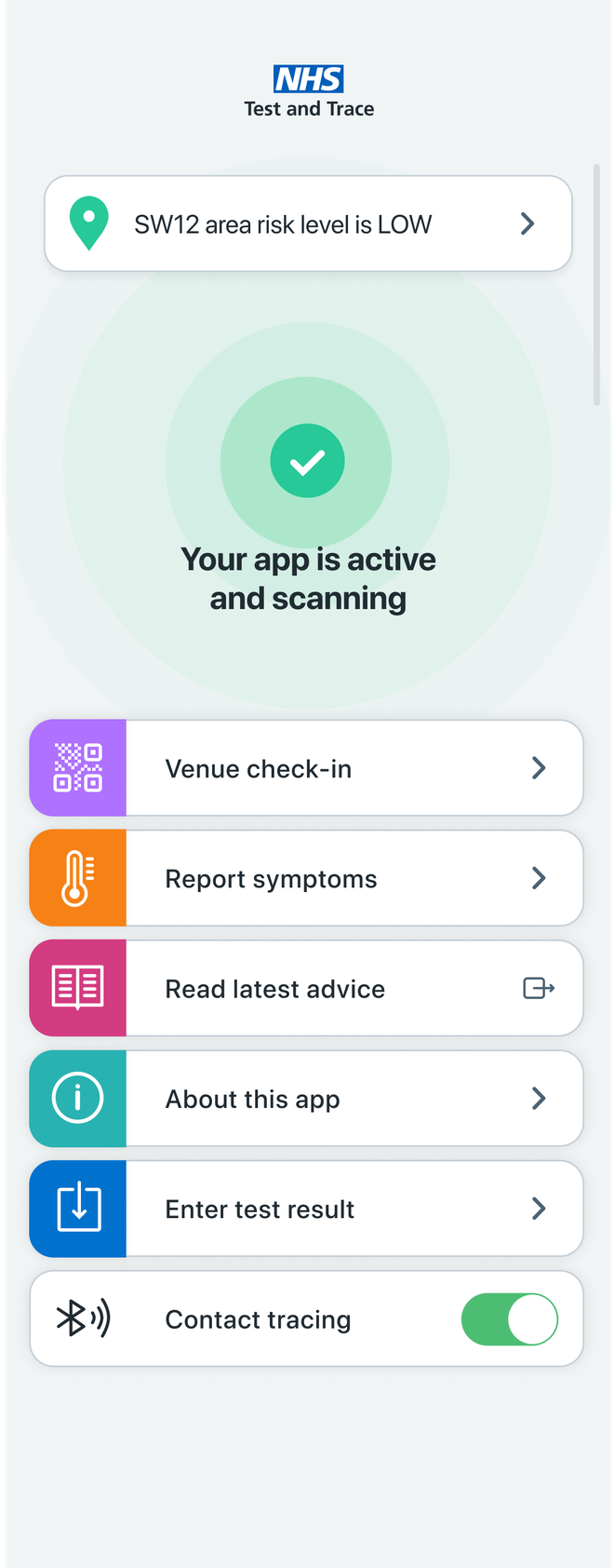 The NHS Covid-19 app is available to download now.