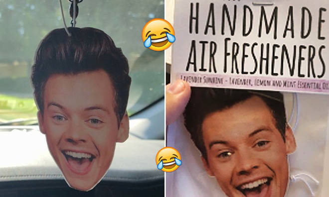 Harry Styles air fresheners are flooding the internet and they've already sold out