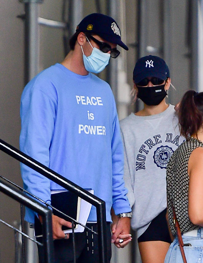 Jacob Elordi and Kaia Gerber spotted together in New York