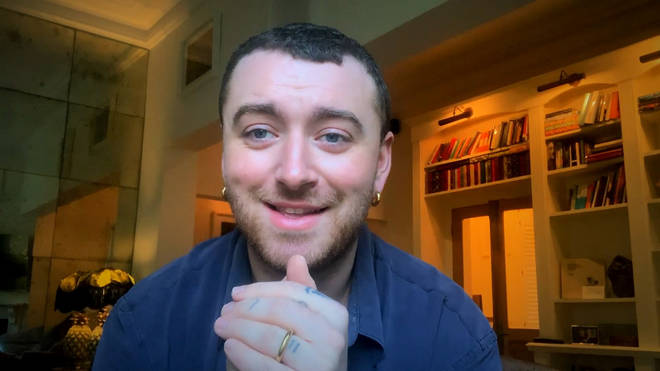"""Sam Smith said their album &squot;Love Goes&squot; was """"cathartic"""""""