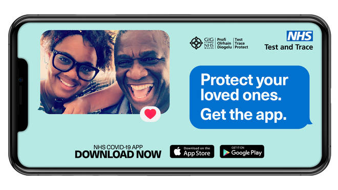 The new app aims to 'help protect our loves ones and and help stop the spread of Coronavirus'.