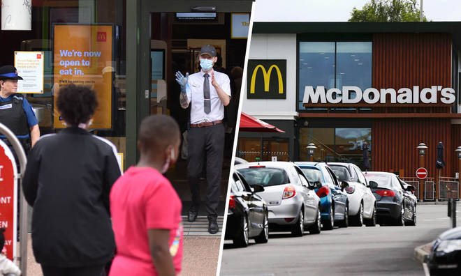 McDonald's has had to make changes to its service after the new coronavirus rules