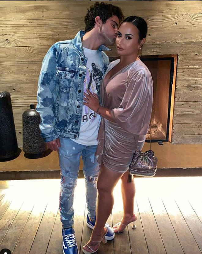 Demi Lovato and Max Ehrich got engaged in July