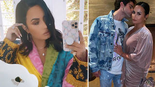 Demi Lovato is using her platform to encourage her fans to seek help and ignoring her split from Max Ehrich.