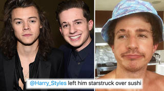 Charlie Puth once revealed Harry Styles's location and got him mobbed