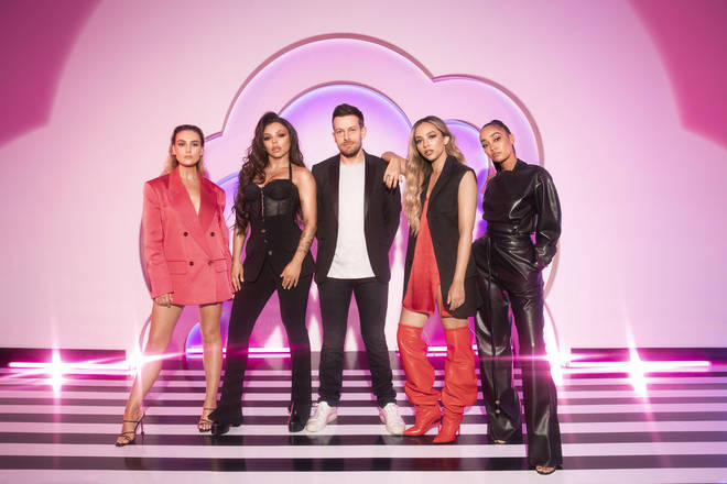 Little Mix: The Search is hosted by Chris Ramsey