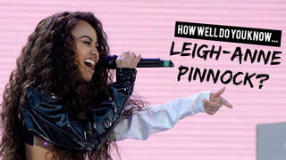 Test your knowledge on Little Mix's Leigh-Anne Pinnock