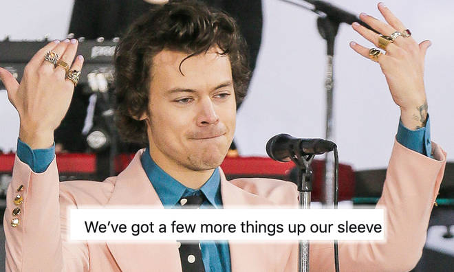 Harry Styles fans think he may have music on the way in 2020