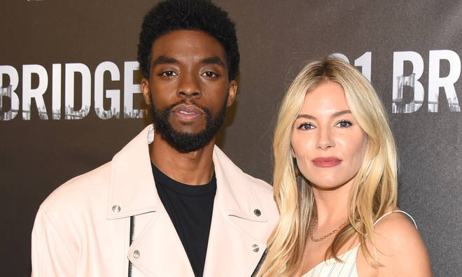 Chadwick Boseman topped up Sienna Miller's 21 Bridges salary with part of his own