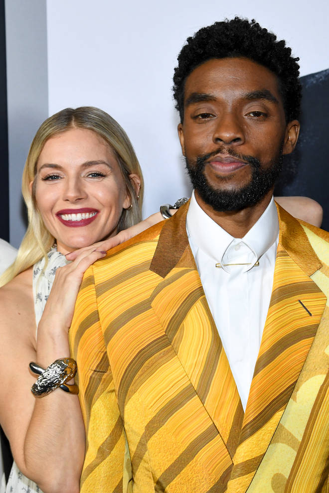 Sienna Miller called Chadwick's act of kindness 'the most astounding thing'