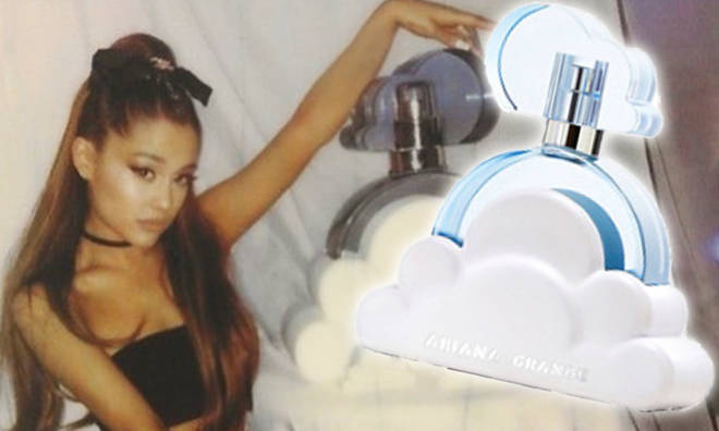 Ariana Grande's new perfume, 'Cloud' is officially available online