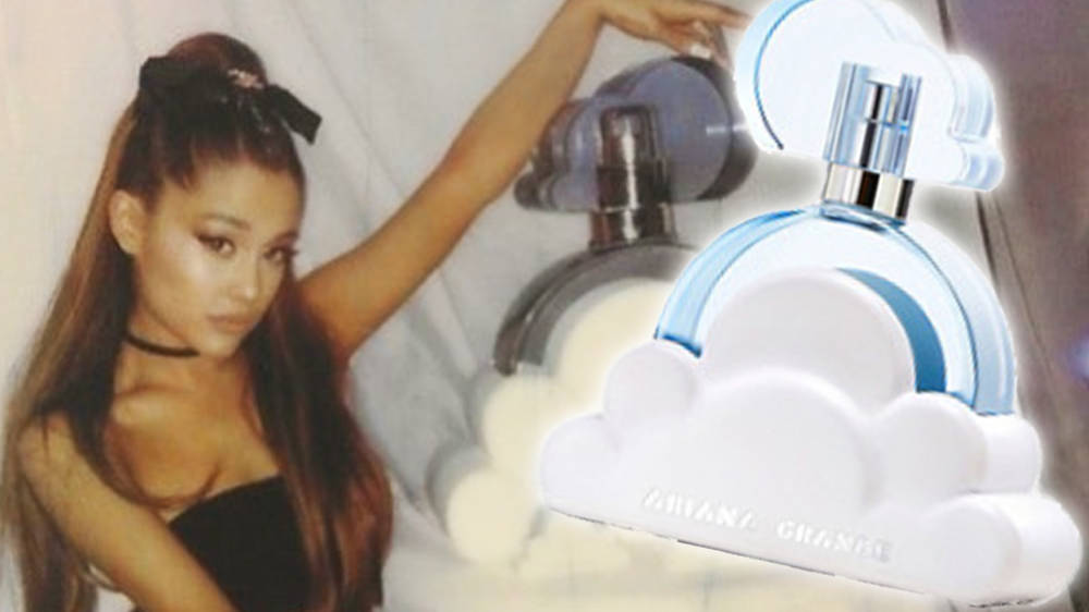 Ariana Grandes Perfume Cloud Has Finally Released We Need It