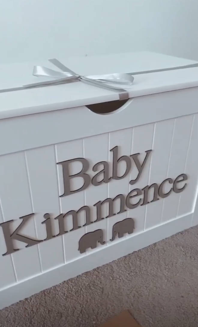 Dani Dyer has prepared her baby's nursery