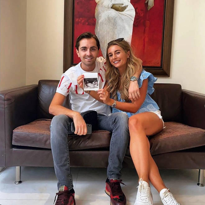 Dani Dyer and boyfriend Sammy Kimmence announced their baby news in July