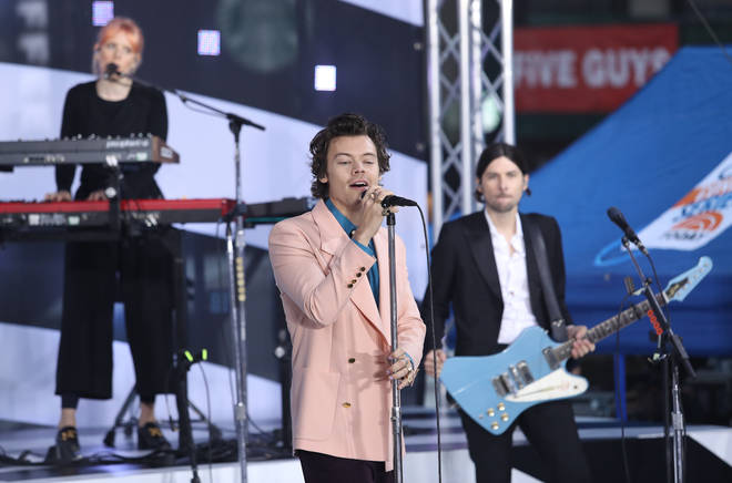 Harry Styles had chart toppers 'Adore You' and 'Watermelon Sugar' on 'Fine Line'