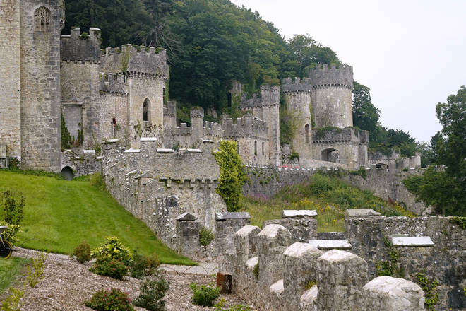 Gwrych Castle is the 2020 home of I'm A Celeb