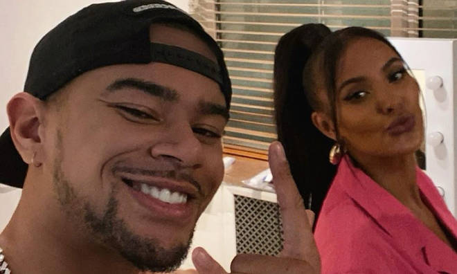 Wes Nelson and Maya Jama sparked dating rumours with a selfie together.