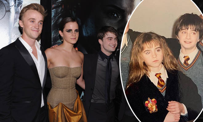 Tom Felton posted a throwback of his Harry Potter co-stars