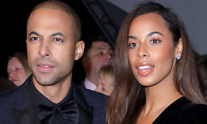 Rochelle Humes and Marvin have had a lasting relationship as husband and wife