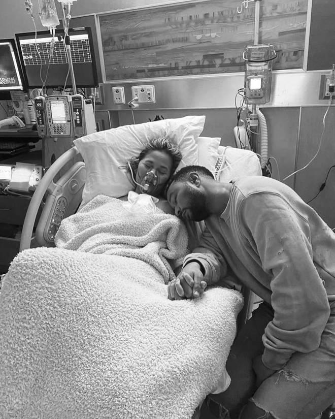 Chrissy Teigen had been sharing regular updates with her third pregnancy