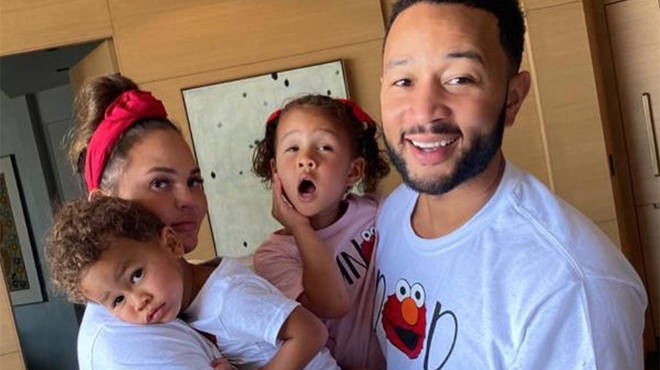 Chrissy Teigen and John Legend have one son and one daughter together