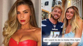 Zara McDermott has publicly apologised to ex Sam Thompson after cheating on him