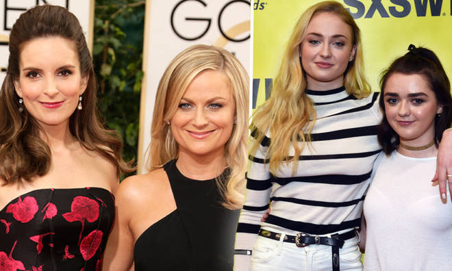 Games Of Thrones' Sophie Turner & Maisie Williams are total work wives