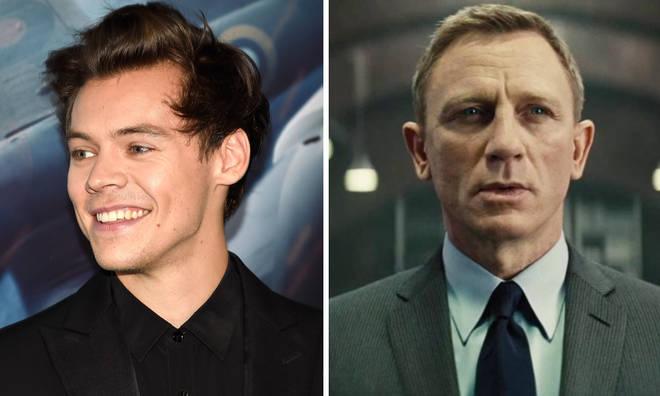 Harry Styles breaks silence over James Bond rumours