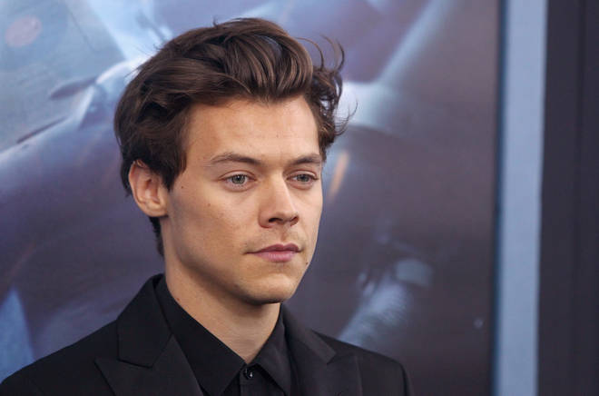 Harry Styles at the Dunkirk premiere