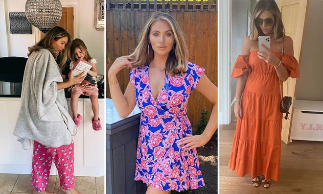 Amy Childs has a gorgeous home in Essex with her two kids