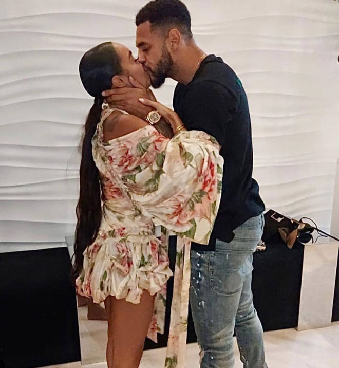 Leigh-Anne Pinnock thanked fiancé Andre Gray for making her birthday 'special'