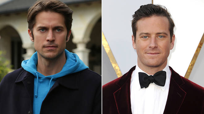 Lucas Bravo and Armie Hammer have been inundated with comparison messages