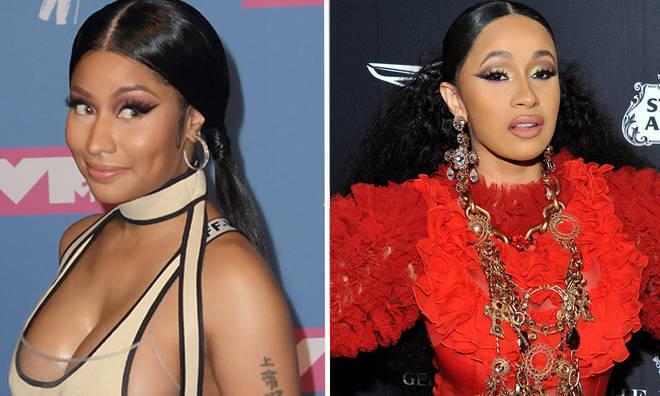 Nicki Minaj throws shade at Cardi B with new 'Nicki stopped my bag' merchandise